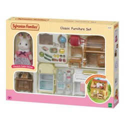 Classic Furniture Set for Cosy Cottage Starter Home - EPO-5220 - Epoch Traumwiesen - Sylvanian Families - Le Nuage de Charlotte