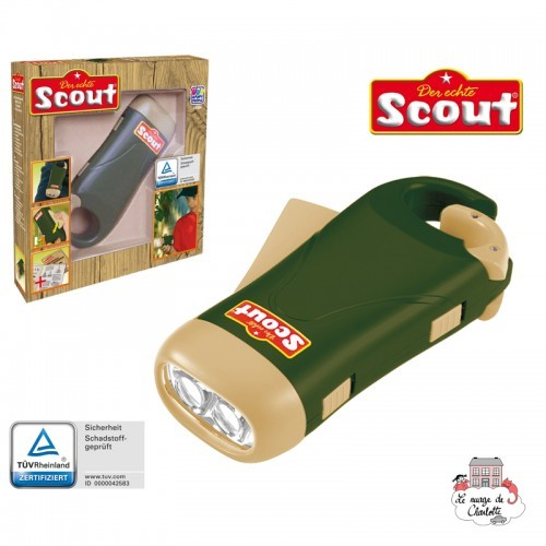 Scout Dynamo torch - HPL-19354 - Happy People - Discovery - Le Nuage de Charlotte
