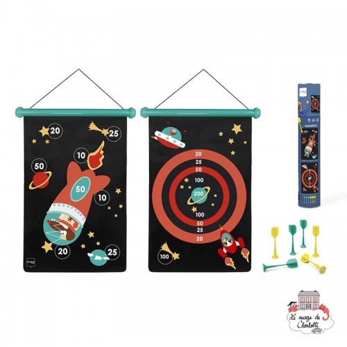 Dart Game - Space - SCR-6182001 - Scratch - Darts - Le Nuage de Charlotte