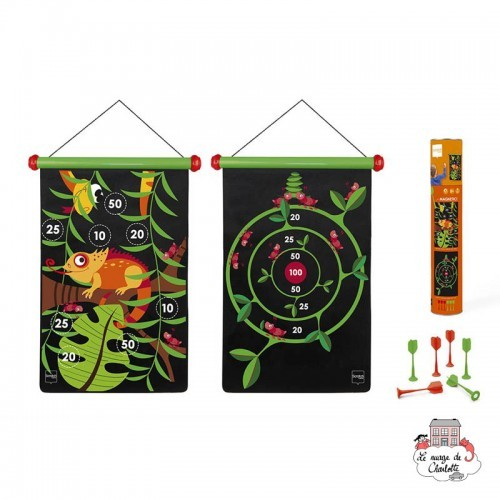 Dart Game - Jungle - SCR-6182021 - Scratch - Darts - Le Nuage de Charlotte