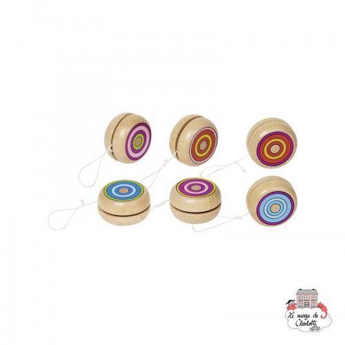Yo-yo Colourful rings - GOK-8662967 - Goki - Yo-yo - Le Nuage de Charlotte