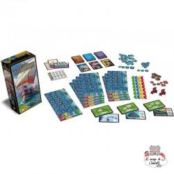 7 Wonders - Ext. Armada - REP-6292123 - Repos Production - Board Games - Le Nuage de Charlotte