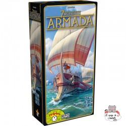 7 Wonders - Ext. Armada - REP-6292123 - Repos Production - Jeux de société - Le Nuage de Charlotte