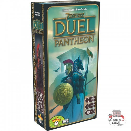 7 Wonders Duel - Ext. Pantheon - REP-6292111 - Repos Production - Board Games - Le Nuage de Charlotte
