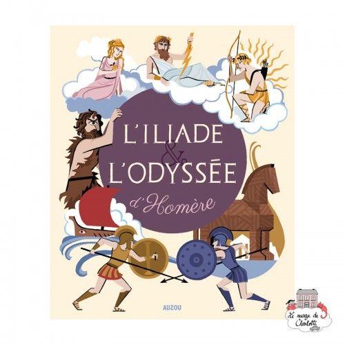L'iliade et l'odyssée d'Homère - AUZ-AU00573 -  - Books - Le Nuage de Charlotte