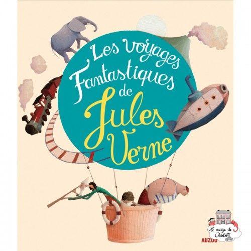 Les voyages fantastiques de Jules Verne - AUZ-AU00572 -  - Books - Le Nuage de Charlotte