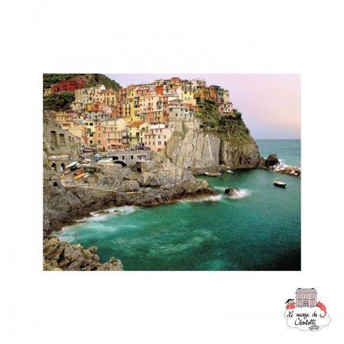 Cinque Terre, Italy - RAV-166152 - Ravensburger - 2000 pieces - Le Nuage de Charlotte