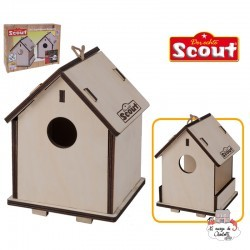 Scout 2 in 1 birdhouse and nesting box - HPL-19914 - Happy People - Discovery - Le Nuage de Charlotte