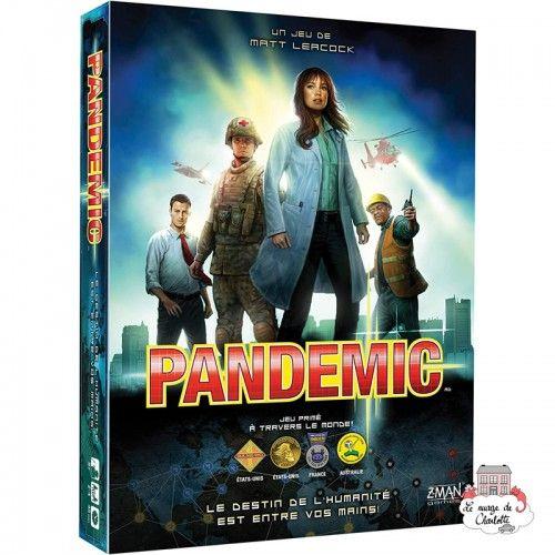 Pandemic - ZMA-70175 - Z-Man - Board Games - Le Nuage de Charlotte