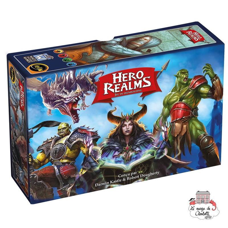 Hero Realms - IEL-51484 - Iello - Deck Building - Le Nuage de Charlotte