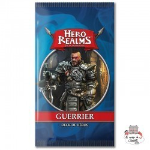 Hero Realms - Ext. Hero Decks - Warrior - IEL-51486 - Iello - Cards Games - Le Nuage de Charlotte