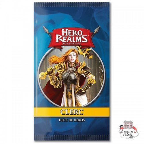 Hero Realms - Ext. Hero Decks - Cleric - IEL-51485 - Iello - Cards Games - Le Nuage de Charlotte