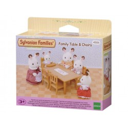 Family Table & Chairs - EPO-2933 - Epoch Traumwiesen - Sylvanian Families - Le Nuage de Charlotte
