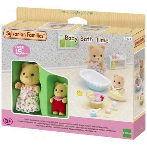 Baby Bath Time - EPO-2228 - Epoch - Sylvanian Families - Le Nuage de Charlotte