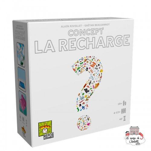 Concept - Recharge - REP-6292130 - Repos Production - Jeux de société - Le Nuage de Charlotte