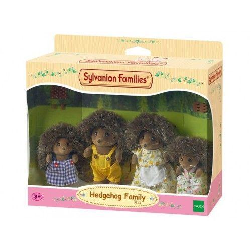 Hedgehoog Family - EPO-3122 - Epoch Traumwiesen - Sylvanian Families - Le Nuage de Charlotte