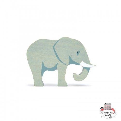 Safari Animal - Elephant - TLT-4746 - Tender Leaf Toys - Figurines et accessoires - Le Nuage de Charlotte