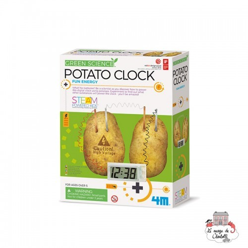 Potato Clock - 4M-5663275 - 4M - Discovery boxes - Le Nuage de Charlotte