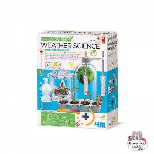 Weather Science - 4M-5663402 - 4M - Discovery boxes - Le Nuage de Charlotte