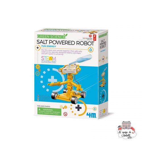 Salt Powered Robot - 4M-5663353 - 4M - Discovery boxes - Le Nuage de Charlotte
