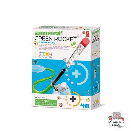 Green Rocket - 4M-5663298 - 4M - Discovery boxes - Le Nuage de Charlotte