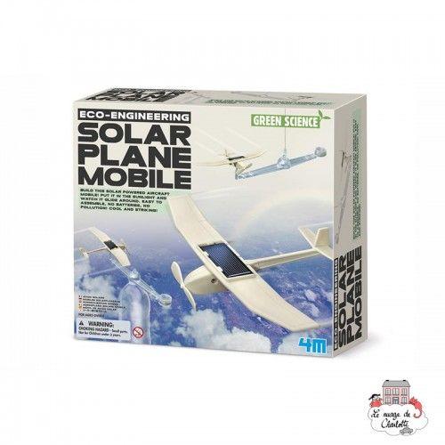 Solar Plane Mobile - 4M-5603376 - 4M - Discovery boxes - Le Nuage de Charlotte