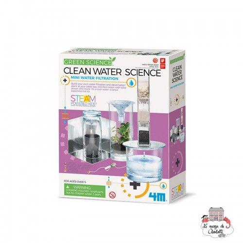 Clean Water Science - 4M-5603281 - 4M - Discovery boxes - Le Nuage de Charlotte