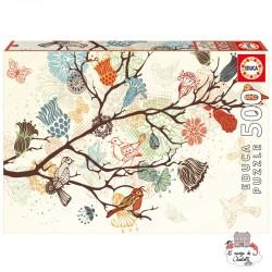 Composition Florale - EDU-17646 - Educa Borras - Adult Puzzles - Le Nuage de Charlotte