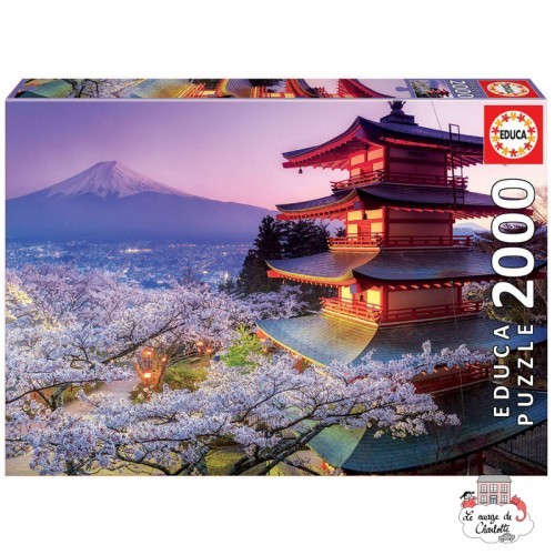 Mount Fuji, Japan - EDU-16775 - Educa Borras - 2000 pieces - Le Nuage de Charlotte