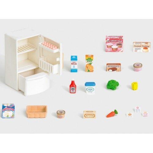 Refrigerator Set - EPO-3566 - Epoch Traumwiesen - Sylvanian Families - Le Nuage de Charlotte