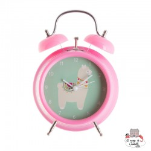 LIMA LLAMA ALARM CLOCK - S&B-CLOCK002 - Sass & Belle - Clocks & Alarm Clocks - Le Nuage de Charlotte