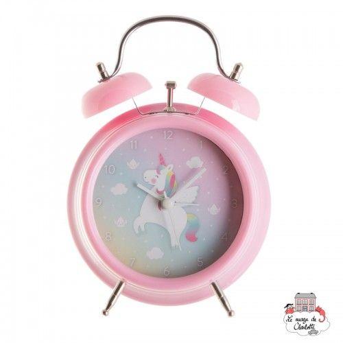 RAINBOW UNICORN ALARM CLOCK - S&B-CLOCK003 - Sass & Belle - Clocks & Alarm Clocks - Le Nuage de Charlotte
