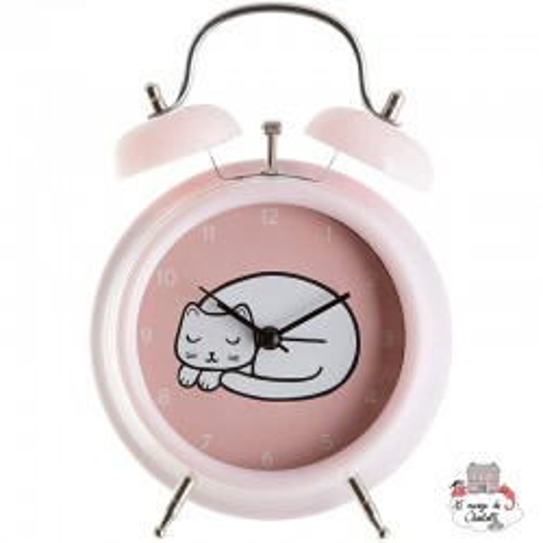 CUTIE CAT ALARM CLOCK - S&B-CLOCK001 - Sass & Belle - Clocks & Alarm Clocks - Le Nuage de Charlotte