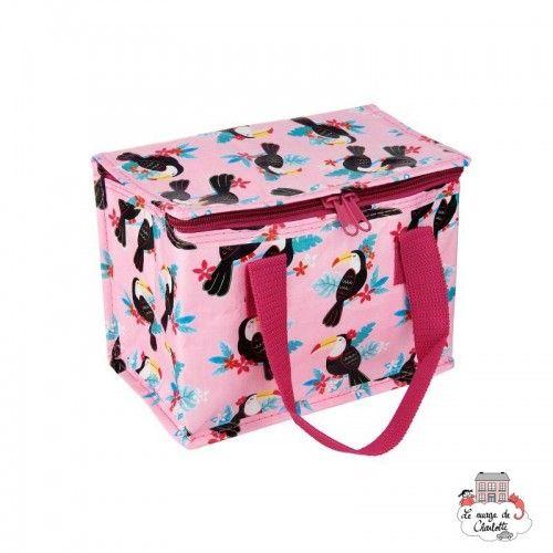 Tiki Toucan Lunch Bag - S&B-TOTE089 - Sass & Belle - Cooler Bag - Le Nuage de Charlotte