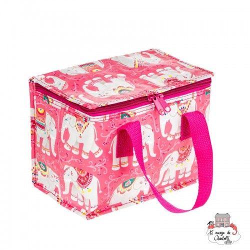 MANDALA ELEPHANT Lunch Bag - S&B-TOTE080 - Sass & Belle - Cooler Bag - Le Nuage de Charlotte