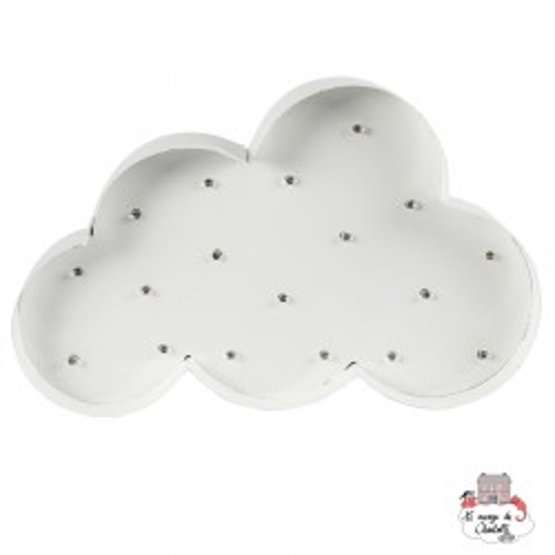 Cloud Light Up LED Wall Decoration - S&B-LUMI031 - Sass & Belle - Decorations - Le Nuage de Charlotte