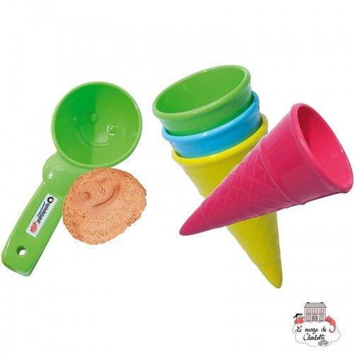 5-Piece Ice Cream Duo fashion - SPI-7416 - Spielstabil - Sand and Playdough - Le Nuage de Charlotte