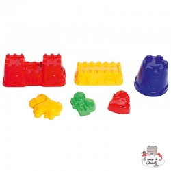 Castle and Characters Sand Mould classic - SPI-7503 - Spielstabil - Sand and Playdough - Le Nuage de Charlotte