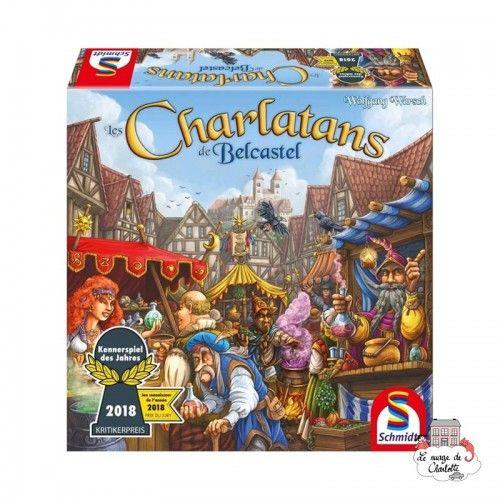 Les Charlatans de Belcastel - SDT-88194 - Schmidt - Jeux de société - Le Nuage de Charlotte