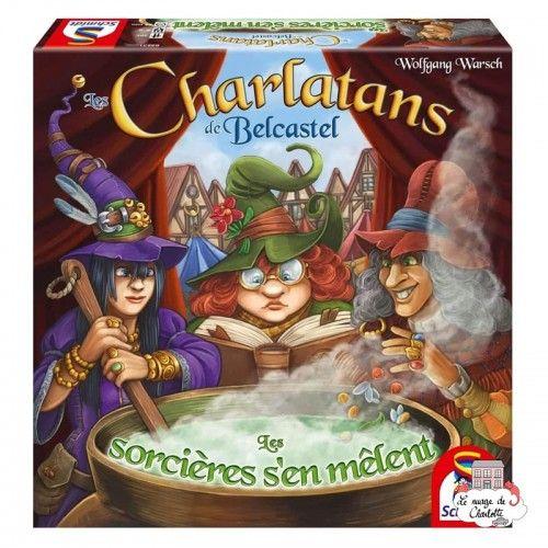 Les Charlatans de Belcastel - Ext. Les Sorcières s'en mêlent - SDT-88231 - Schmidt - Board Games - Le Nuage de Charlotte