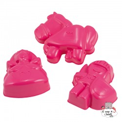 Castle Characters Sand Mould Princess - SPI-7417 - Spielstabil - Sand and Playdough - Le Nuage de Charlotte