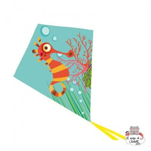 Kite Seahorse - SCR-6182524 - Scratch - Kite - Le Nuage de Charlotte