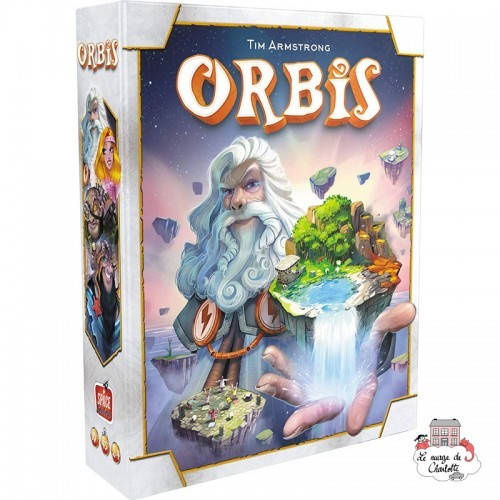 Orbis - SPC-191205 - Space Cowboys - Board Games - Le Nuage de Charlotte