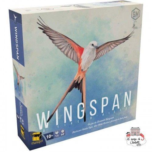 Wingspan - MAT-114153 - Matagot - Jeux de société - Le Nuage de Charlotte