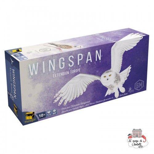 Wingspan Ext. Europe - MAT-114190 - Matagot - Jeux de société - Le Nuage de Charlotte