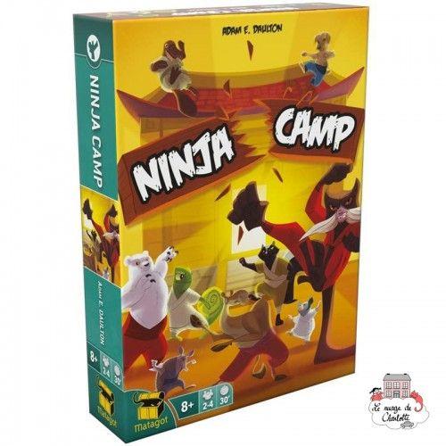 Ninja Camp - MAT-114105 - Matagot - Board Games - Le Nuage de Charlotte
