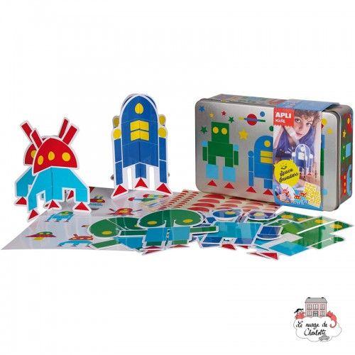 Space Invaders Box - APL-14103 - APLI - Stickers - Le Nuage de Charlotte