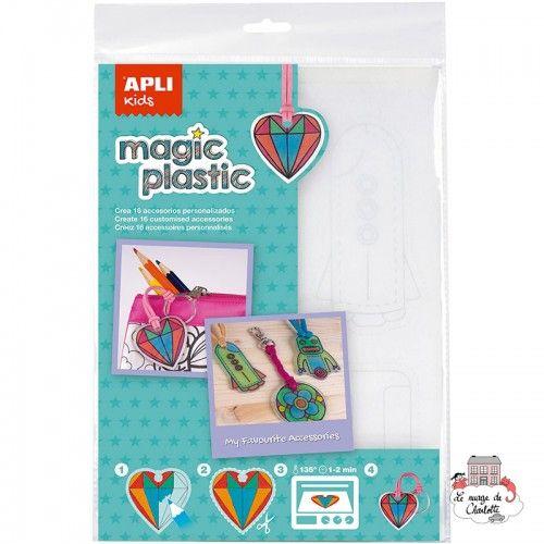 Magic Plastic (4 sheets) - APL-15175 - APLI - Creative Kits - Le Nuage de Charlotte