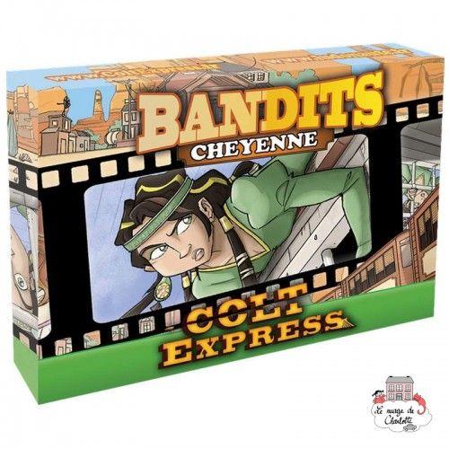 Colt Express - Bandits - Cheyenne - LUD-191162 - Ludonaute - for the older - Le Nuage de Charlotte