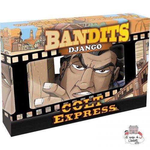 Colt Express - Bandits - Django - LUD-191159 - Ludonaute - for the older - Le Nuage de Charlotte